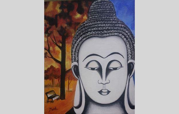 Painting by Mahek Chaudhary