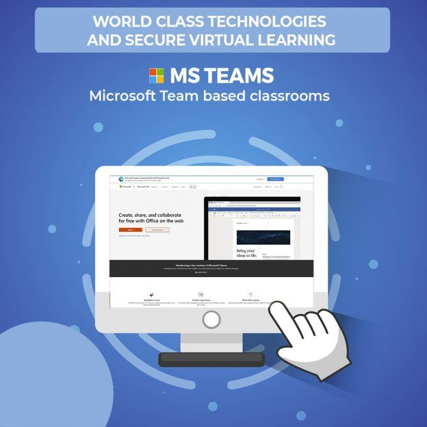 A Secured Learning on MS Teams