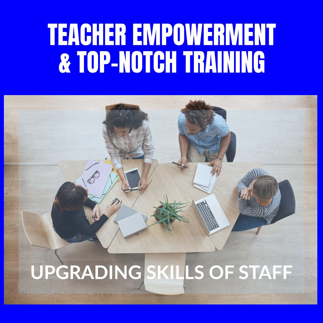 World Class Training and Upgrading Skills of Teachers